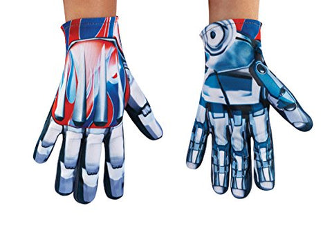 Disguise Optimus Prime Movie Child Gloves, One Size