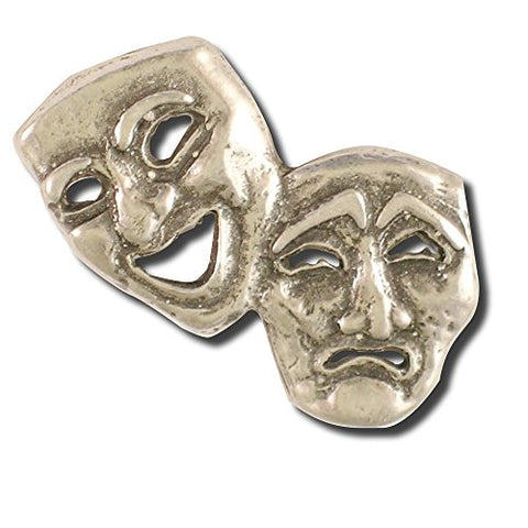 Theater Mask Pin