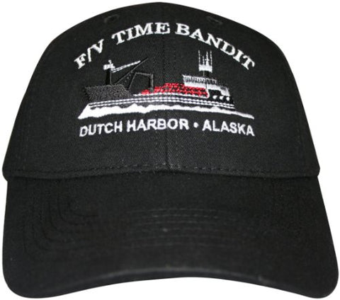 F/V Time Bandit Boat Hat Black