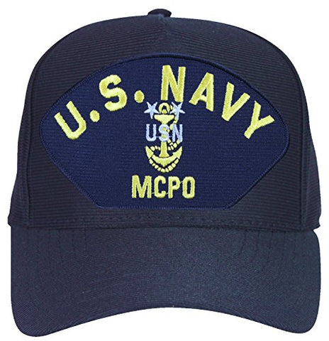 United States Navy Master Chief Petty Officer ' MCPO ' With Anchor Cap