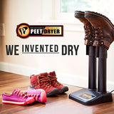 PEET Dryer - Original 2-Shoe Electric Shoe and Boot Dryer, Black