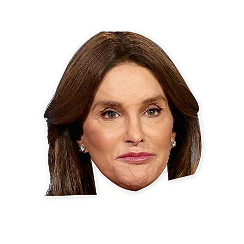 Caitlyn Jenner Mask - Perfect for Halloween, Masquerade, Parties, Events, Festivals, Concerts - Jumbo Size Waterproof Laminated String