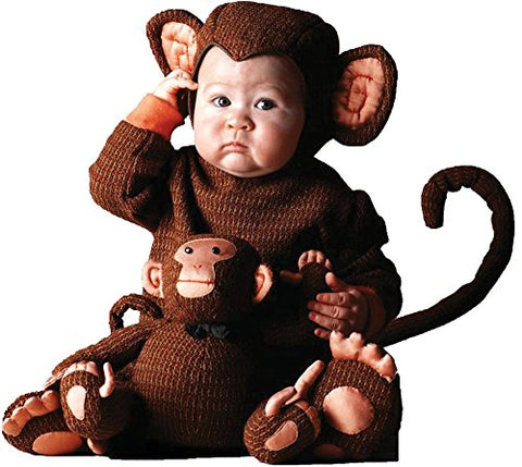 Tom Arma Monkey Toddler Costume 4T-5T - Toddler Halloween Costume