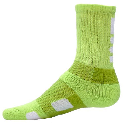 Red Lion Legend Athletic Socks ( Neon Green / White - Small )