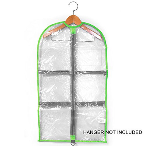 LONG Garment Bag 18  x 37  - Clear