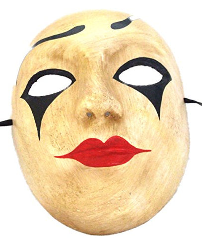 Venetian Full Mask Harlequin Tears Masquerade Drama Ball