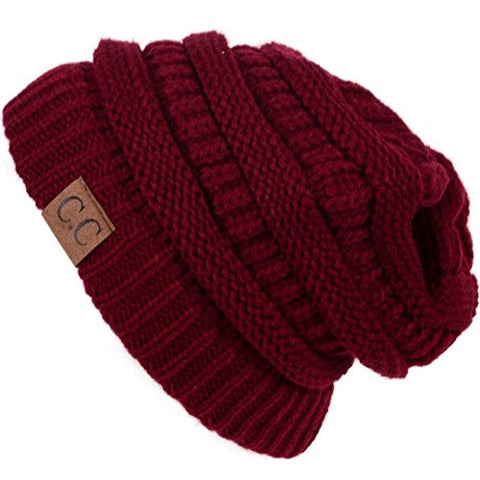 Cap- outdoor skiing (US Seller)Burgundy_Winter Hat Cap Fashion