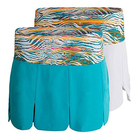 Fila Women's Tropical Car Wash Skort,Large