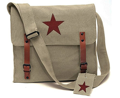 Rothco Khaki Vintage Look Army Medic Shoulder Bag