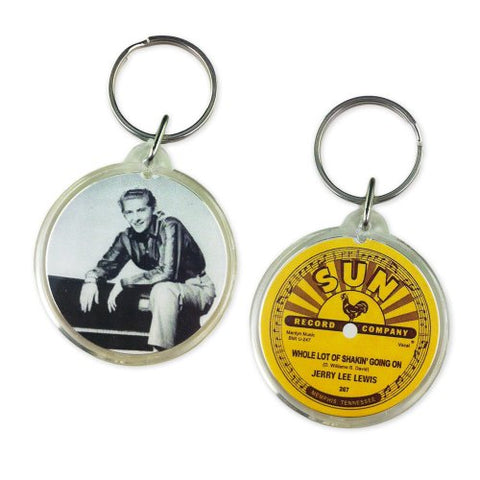 Jerry Lee Lewis Whole Lot of Shakin Photo Key Ring