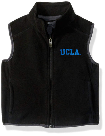 "Ncaa By Outerstuff Ncaa Ucla Bruins Kids & Youth Boys ""Scrimmage"" Polar Fleece Vest, Black, Youth Small(8)"