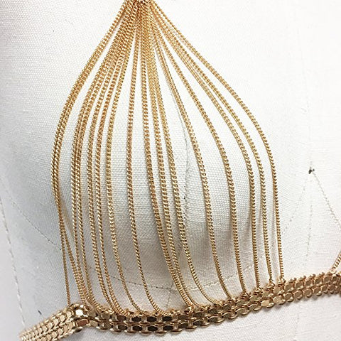 0bee1edeb2254 Boho metal gold chain bralette bikini chain – ibbfashion.com