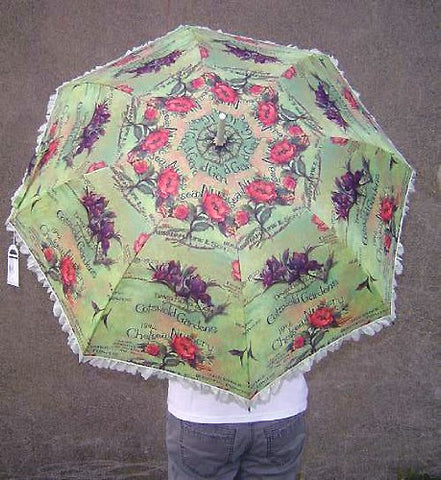 Isabella's Parasol English Garden Umbrella Signature Collection
