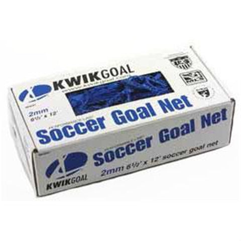 "Kwik Goal Junior Recreational Soccer Net(Blue - 6'5""H X 12'Wx2'Dx6'B)"