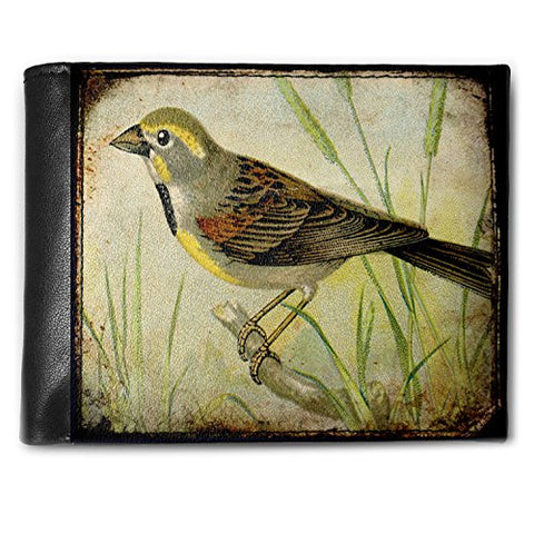 Wallet Bird, Nature, RFID Men's Bifold ID Case - Neonblond