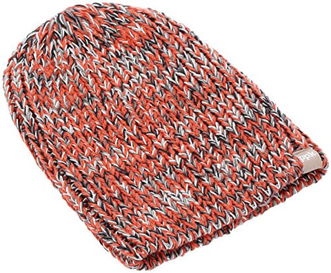 Peppercorn Kids Big Boys' Stretchy Rib Beanie - Orange - ML (4-8+YR)