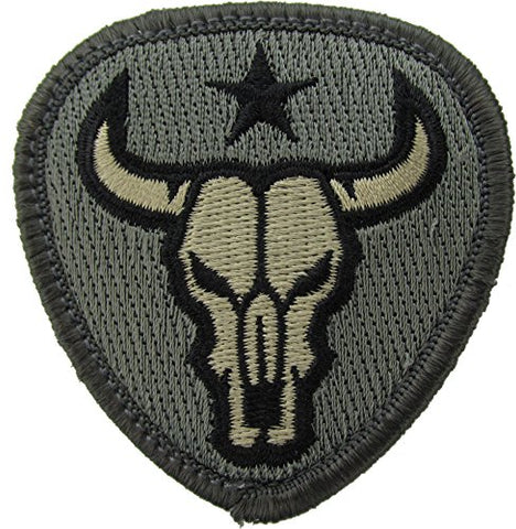 Bull Skull Morale Patch (ACU (Foliage Green))