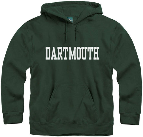 Ivysport Dartmouth College Hooded Sweatshirt, Classic, Hunter Green, Xx-Large