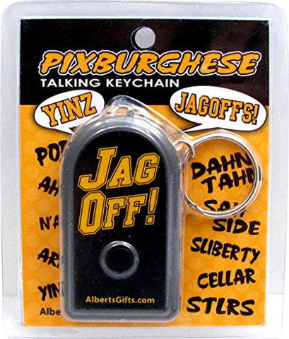 Jag Off Keychain Talking