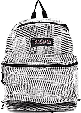 Transworld Mesh Backpack - White
