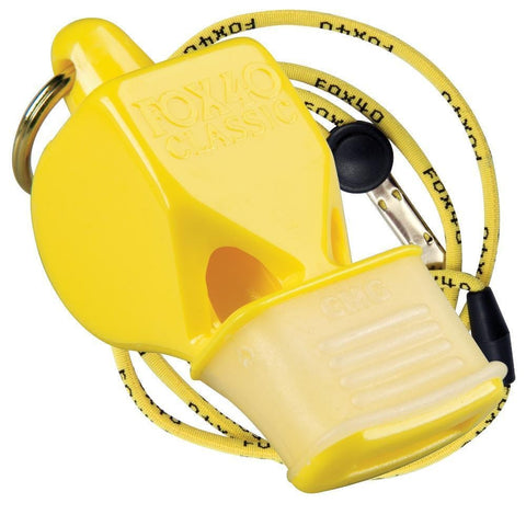 Fox 40 Classic Cmg Safety & Lanyard (Yellow)