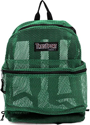 Transworld Mesh Backpack - Forest Green