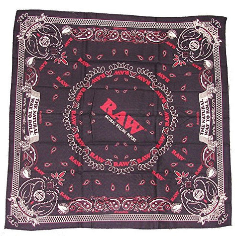RAW Natural Rolling Papers Clothing - Bandana