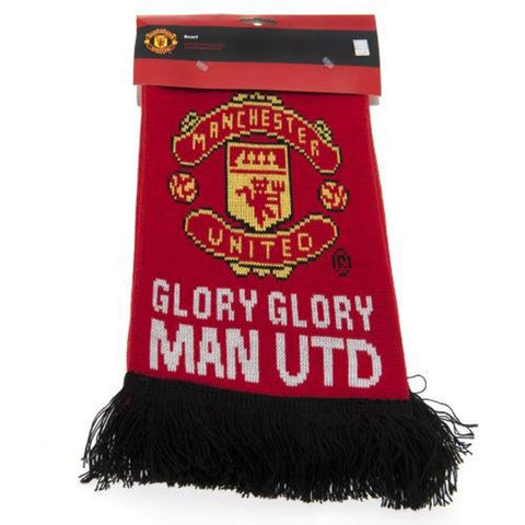 "Manchester United Fc Authentic Epl ""Glory Glory"" Scarf"