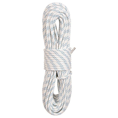 "New England Kmiii Static Rope - 3/8"" 150 Ft./White"