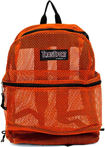 Transworld Mesh Backpack - Orange