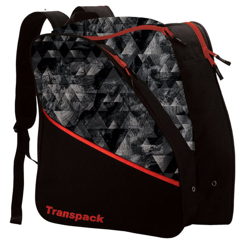 Transpack Edge Junior Printed Boot Bag - Gray Topo/One Size