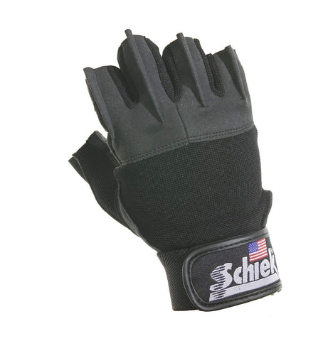 Schiek Platinum Gel Lifting Gloves (Black, Xx-Large)