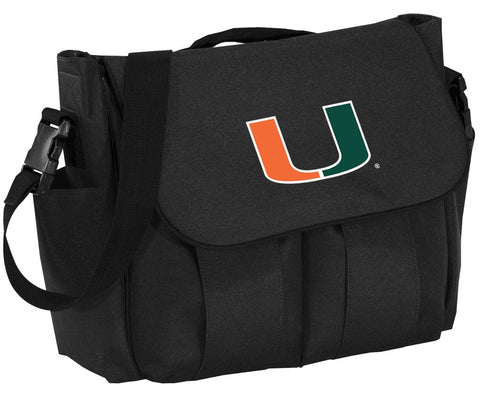 University Of Miami Diaper Bag Miami Canes Baby Shower Gift For Dad Or Mom!