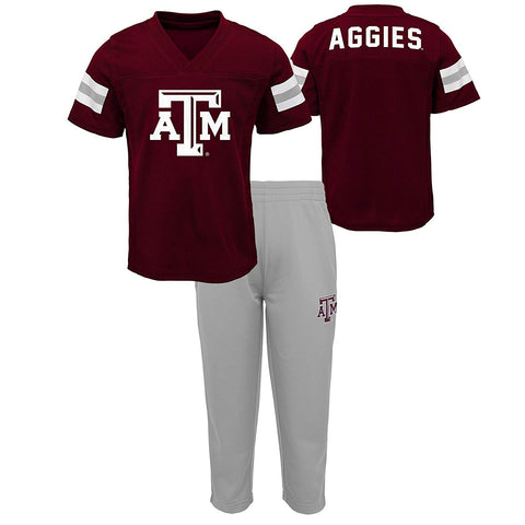 Gen 2 Ncaa Texas A&M Aggies Newborn & Infant Training Camp Top & Short Set, 18 Months, Maroon