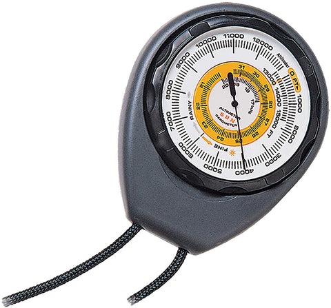 Sun Company Altimeter 203 - Battery-Free Altimeter And Barometer | Weather-Trend Indicator With Rugged Abs Case And Lanyard | Reads Altitude From 0 To 15,000 Feet