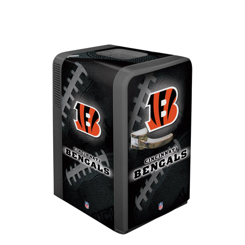 Boelter Brands Nfl Cincinnati Bengals Portable Party Fridge, 15 Quarts
