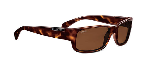 Serengeti Merano Sunglasses, Dark Demi Tortoise With D Polarized Lens