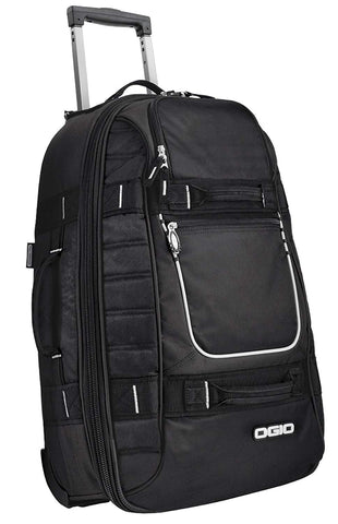 Ogio Pull-Through Travel Rolling Suitcase Luggage - Black