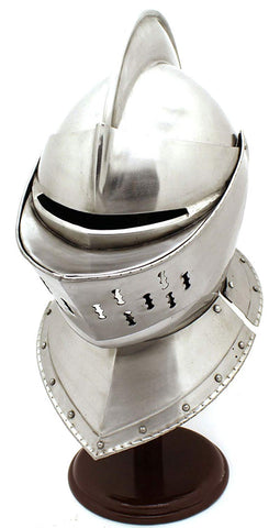 Whetstone Cutlery Medieval Knight'S Full Size Armor Helmet