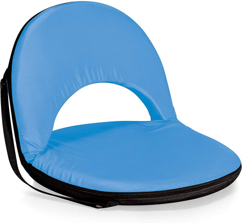 Oniva - A Picnic Time Brand Oniva Portable Reclining Seat, Light Blue