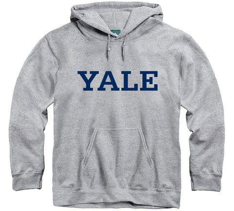Ivysport Yale University Hooded Sweatshirt, Classic, Grey, Xx-Large