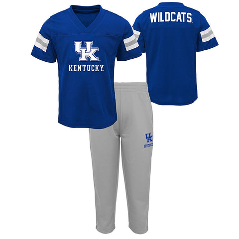 Gen 2 Ncaa Kentucky Wildcats Newborn & Infant Training Camp Top & Short Set, 24 Months, Royal