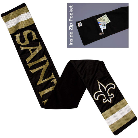 Nfl New Orleans Saints Jersey Scarf