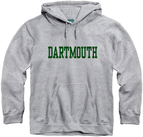 Ivysport Dartmouth College Hooded Sweatshirt, Classic, Grey, Xx-Large