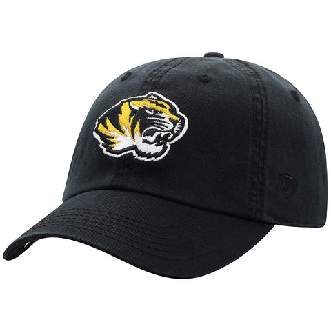 Top Of The World Missouri Tigers Men'S Hat Icon, Black, Adjustable