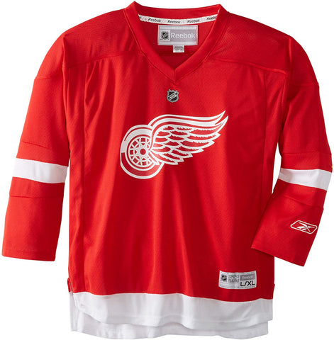 Nhl Detroit Red Wings Replica Youth Jersey, Red, Large/X-Large