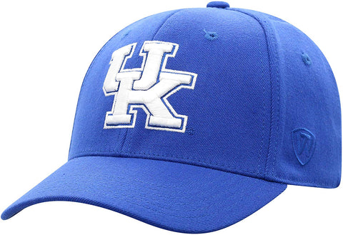 Top Of The World Kentucky Wildcats Men'S Memory Fit Hat Icon, Royal, One Fit