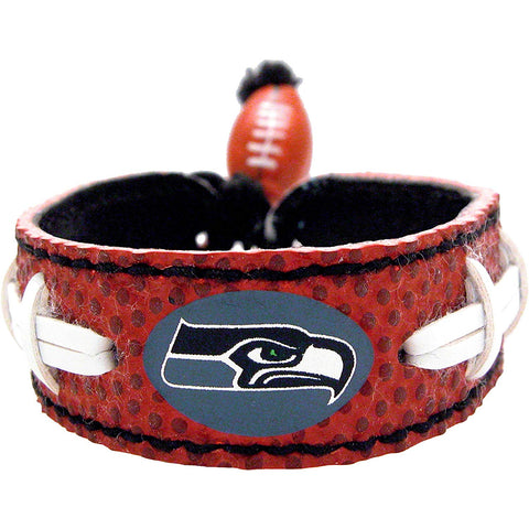 Nfl Seattle Seahawks Leather Classic Wristband