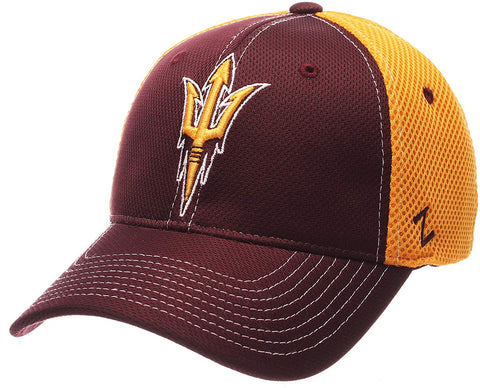 Ncaa Arizona State Sun Devils Men'S Rally Z-Fit Cap, Medium/Large, Maroon/Gold