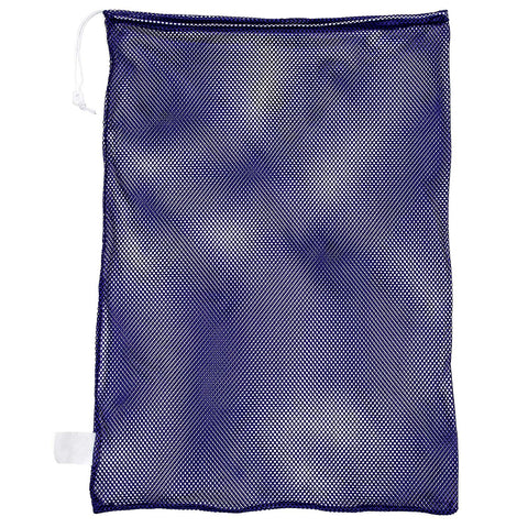 Champion Sports Mesh Sports Equipment Bag, Purple, 24X36 Inches - Multipurpose, Nylon Drawstring Bag With Lock And Id Tag, For Balls, Swimming Gear, Laundry, Toys - Lightweight, Breathable Stuff Sack